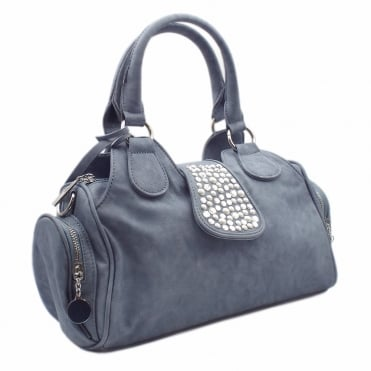 H1112-12 Tamsin Women's Fashion Handbag in Jeans