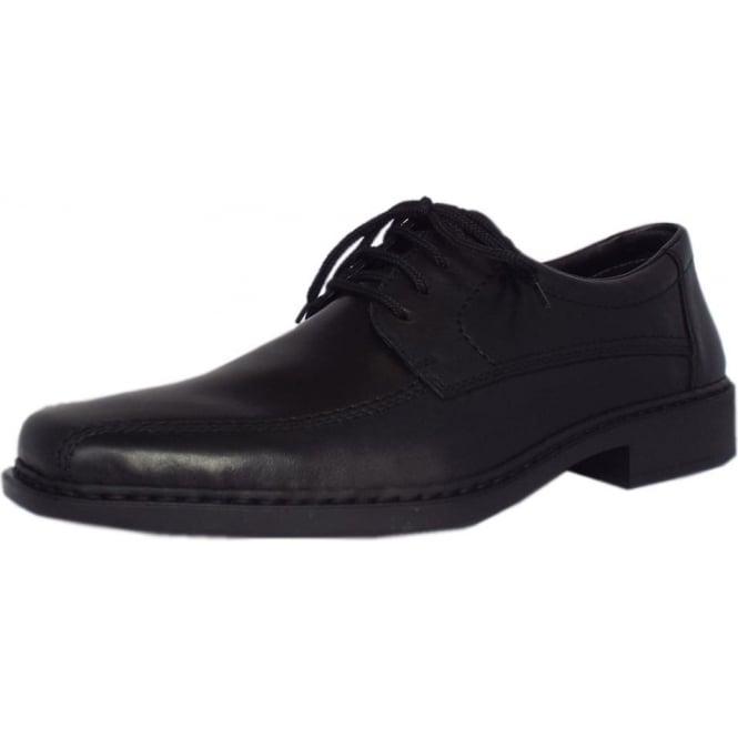 1a0326f341fd7 Rieker Hawk B0812-00 | Men's Smart-Casual Lace-up Shoes in Black