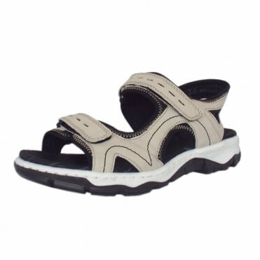 Holmes Women's Trekking Sandals in Cream