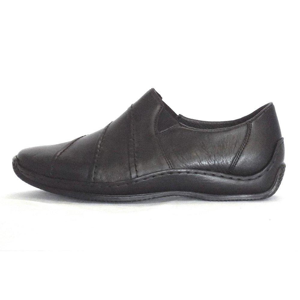 rieker slip on shoe journey l1761 00 in black