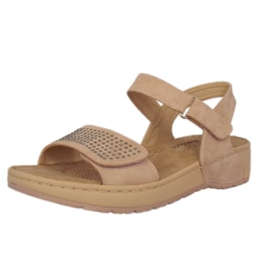 Marion Comfortable Sandals in Altrose