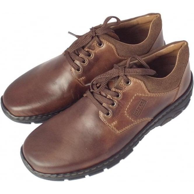 Men's Comfortable Casual Lace Up Brown Shoe