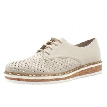 N0357-40 Artimus Smart Casual Lace-Up Shoes in Cloud