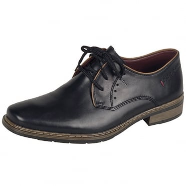 Ranchero Men's Smart-Casual Lace-up Shoes in Black