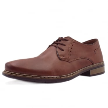 Ranchero Men's Smart-Casual Lace-up Shoes in Brown