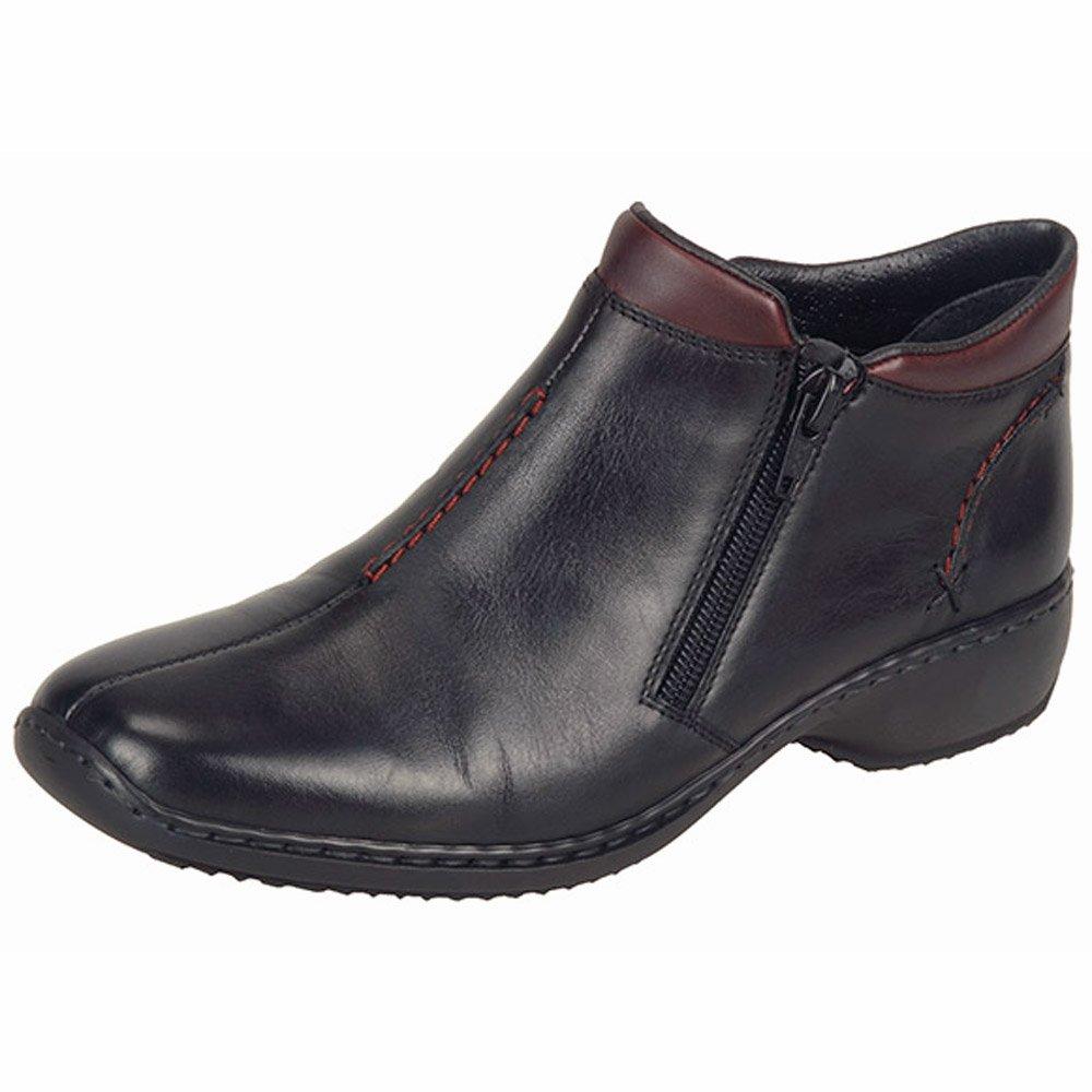 rieker southsea l3882 00 s comfortable wide fit