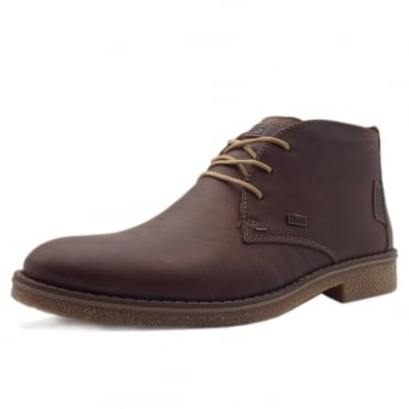 Stable Men's Extra Wide Winter Boots in Brandy