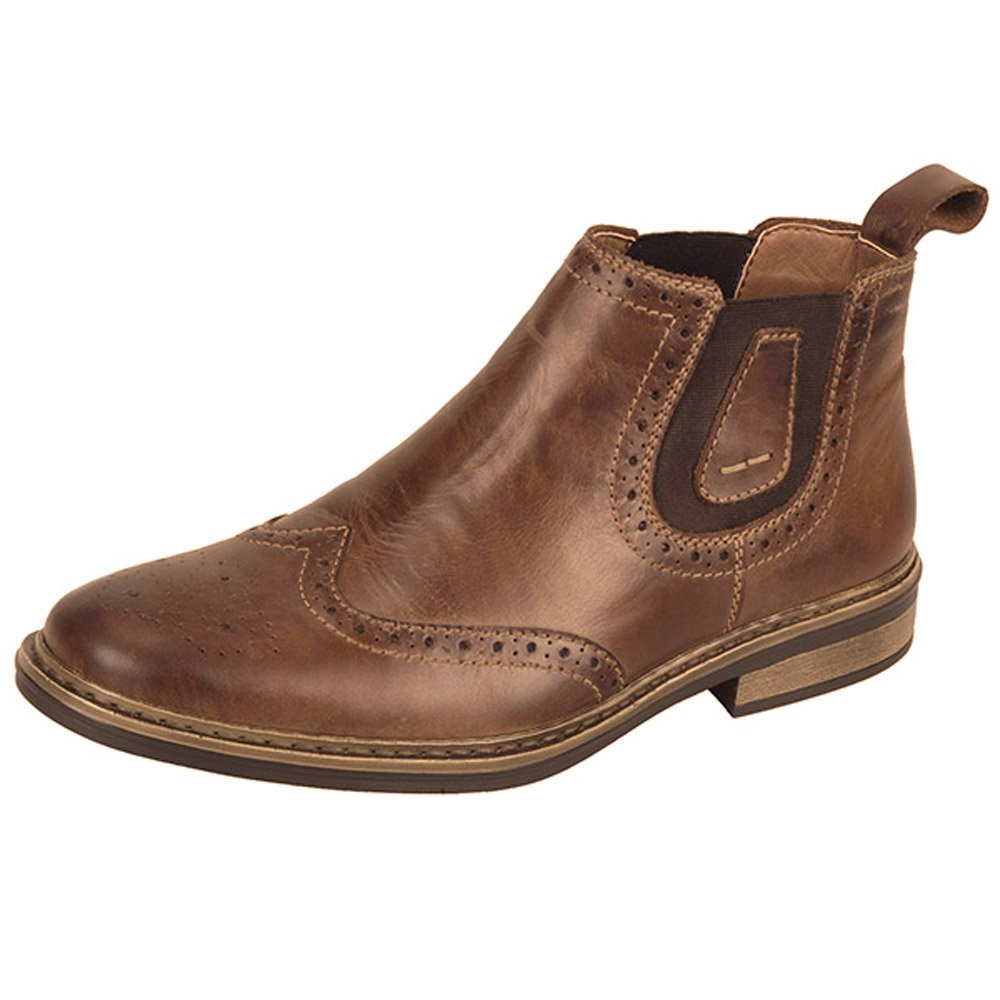 Rieker Texas 37681 25 Men S Warm Extra Wide Chelsea