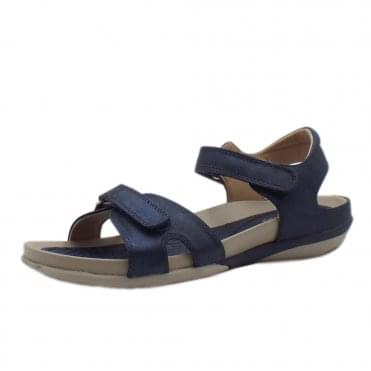 V9462-14 Sport Walk Comfortable Fashion Sandals in Navy