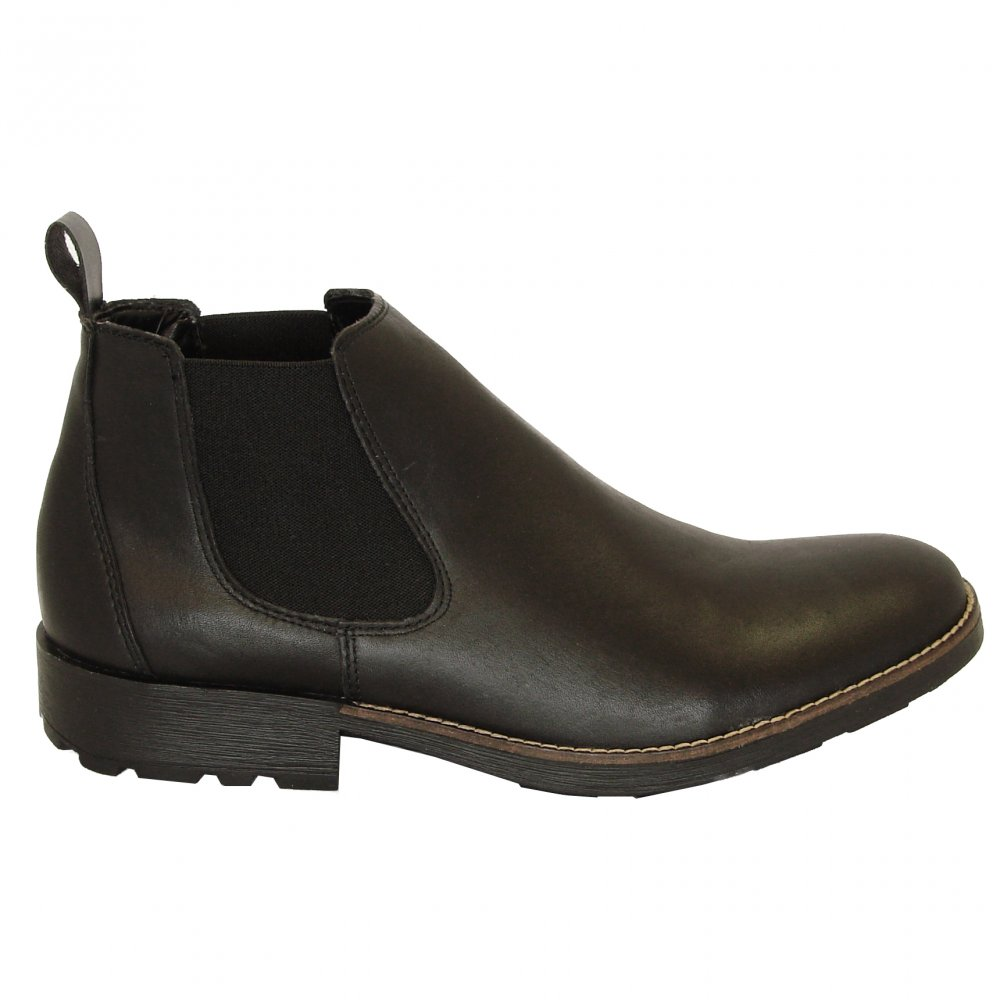 rieker 36082 00 mens pull on boots in black mozimo
