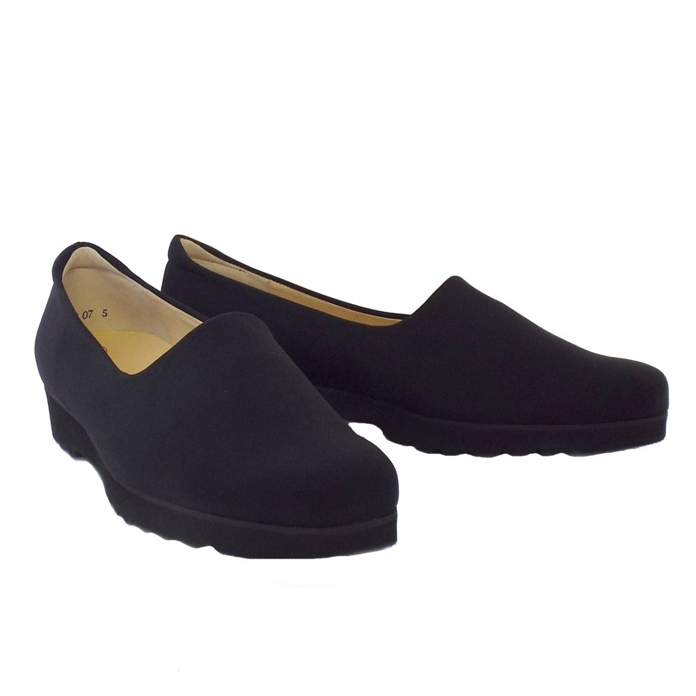 Home : Womens : Ronda Ladies Comfortable Stretch Shoe in Black