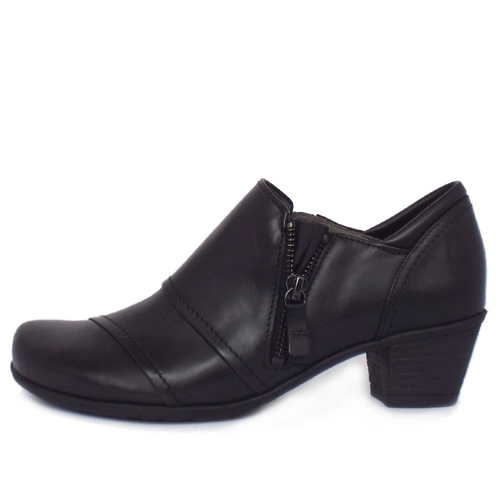 gabor roost s comfortable high top shoes in black