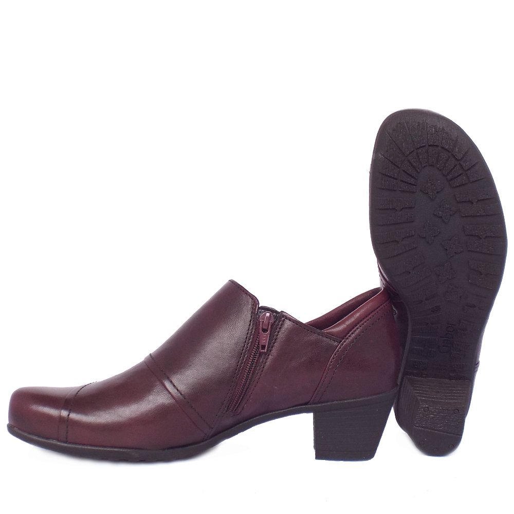 gabor roost s comfortable high top shoes in merlot