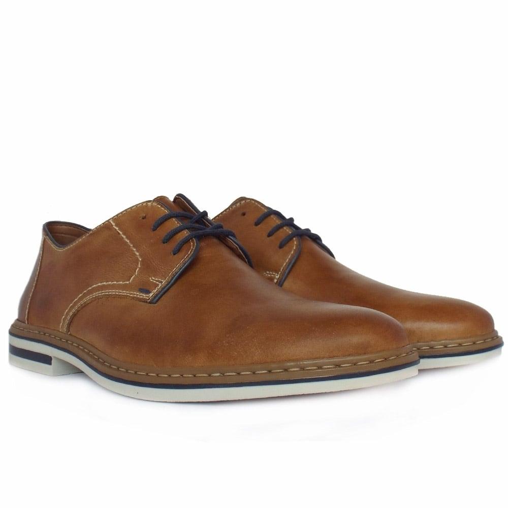 rieker b1422 25 s smart casual lace up shoe in