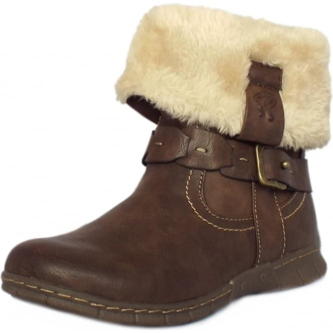 55e25c83ab0fb Lotus Roxana | Women's Casual Boots In Brown | Mozimo