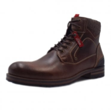 9f5960e1b21d Arco Men s 15220 Casual Lace Up Boots In Brown · S.Oliver ...