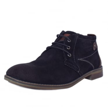 S.Oliver Berlin Men's 15106 Desert Boots in Navy