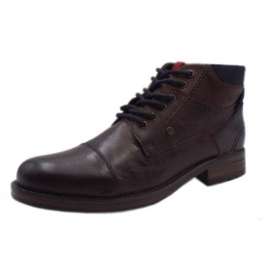 b810393c4b7c Dadic Men s 15223 Lace Up Boots In Dark Brown · S.Oliver ...