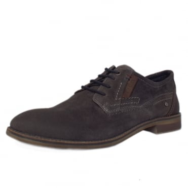 Frankfurt Men's 13604 Smart Lace-up Shoes in Anthracite