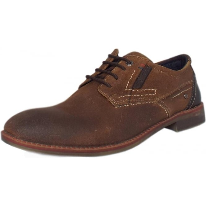 best shoes newest collection 100% top quality Frankfurt Men's 13604 Smart Lace-up Shoes in Tan