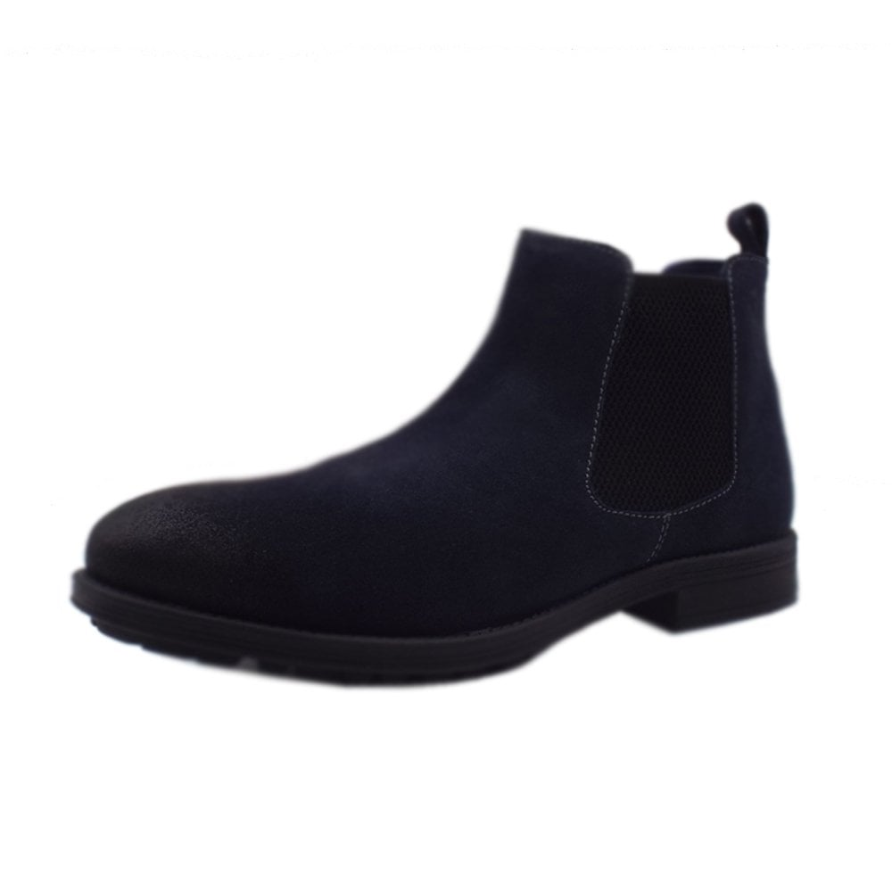 separation shoes 8c7d5 e3000 Helsinki Men's 15401 Casual Chelsea Boot Style In Navy
