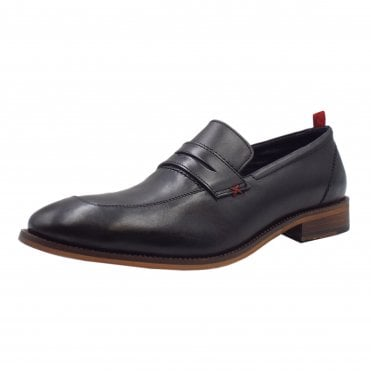 Moriarty Men's 14200 Smart Slip On Shoes in Black