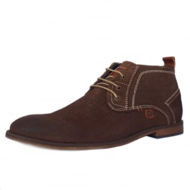 S.Oliver Munich Men's 15202 Desert Boots in Mocca