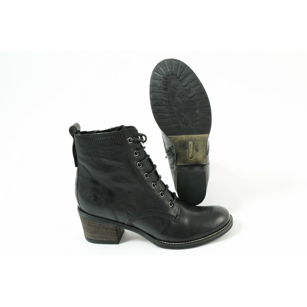 free delivery best authentic online shop LEATHER ANKLE BOOTS LACE UP - Ravel Randall Leather ...