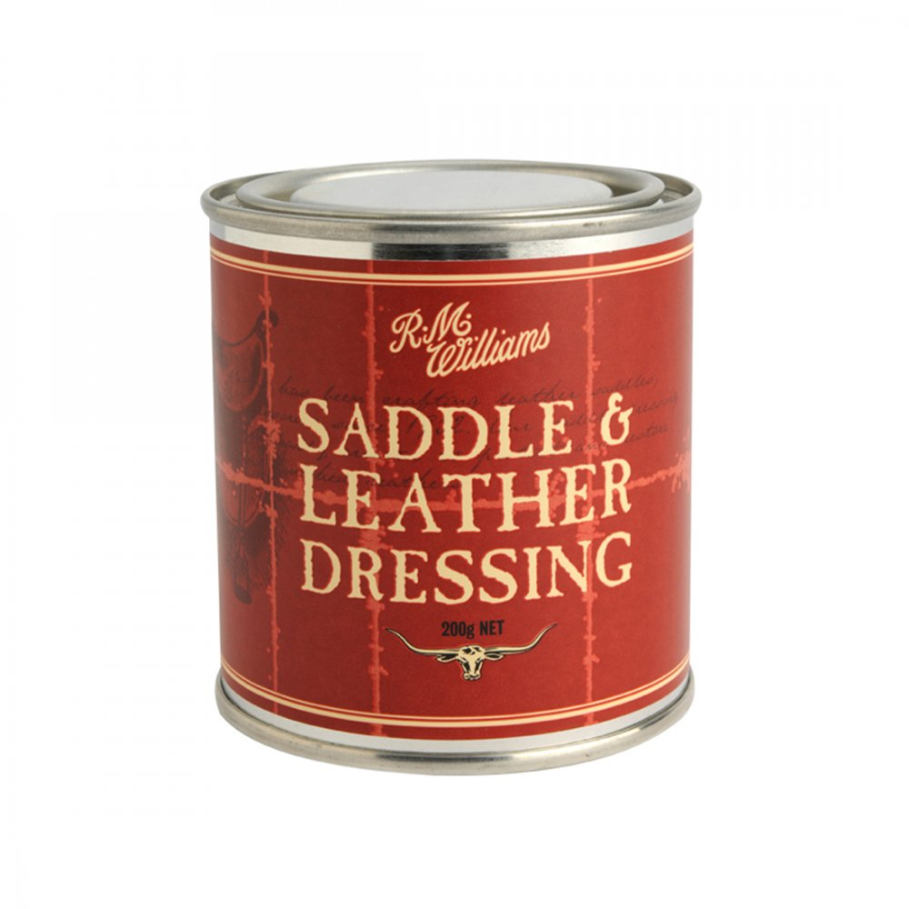 rm williams saddle and leather dressing instructions