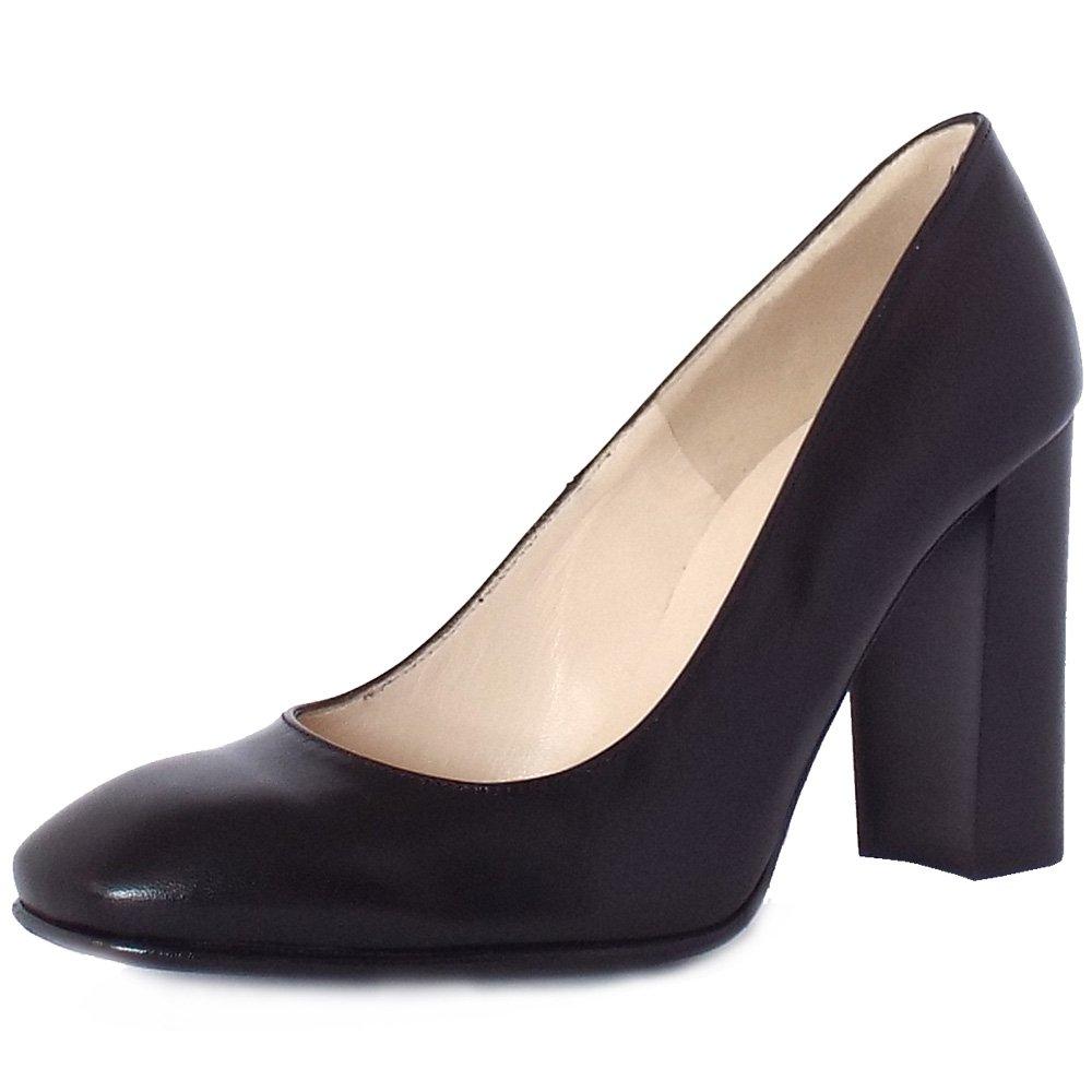 Peter Kaiser Sandy | Block Heel Court Shoes in Black ...