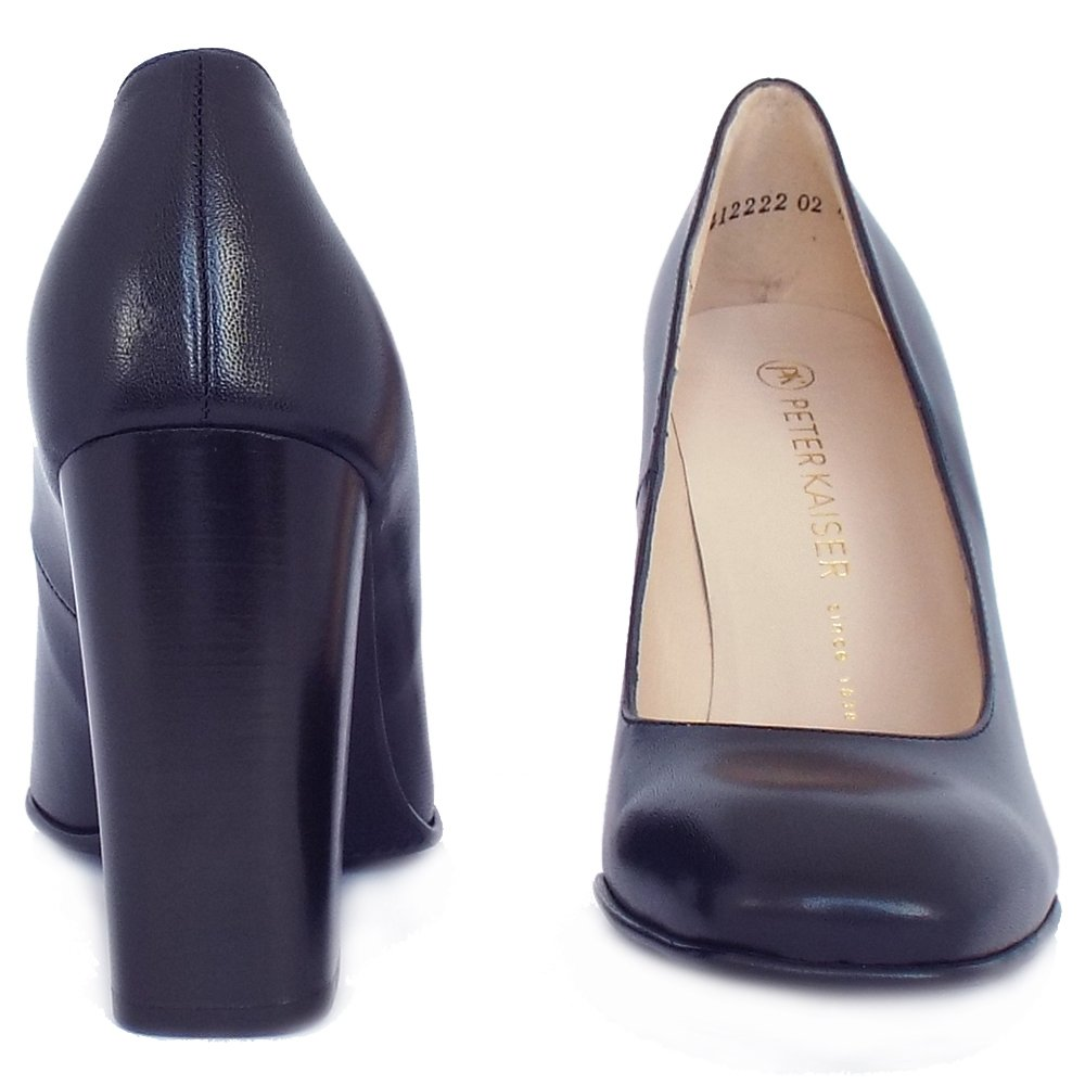 Next Navy Blue Court Shoes