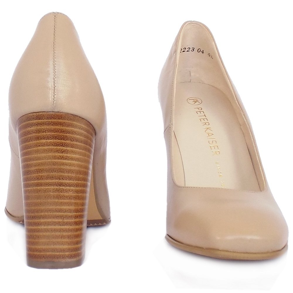 Neutral Block Heel Shoes Womens Uk