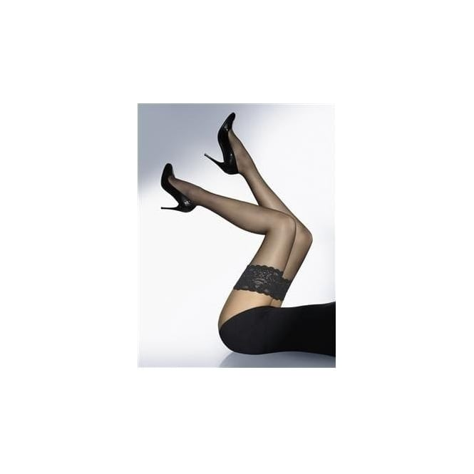 2e6a352ec85cd Wolford Satin Touch 20 denier Womens stay up stockings