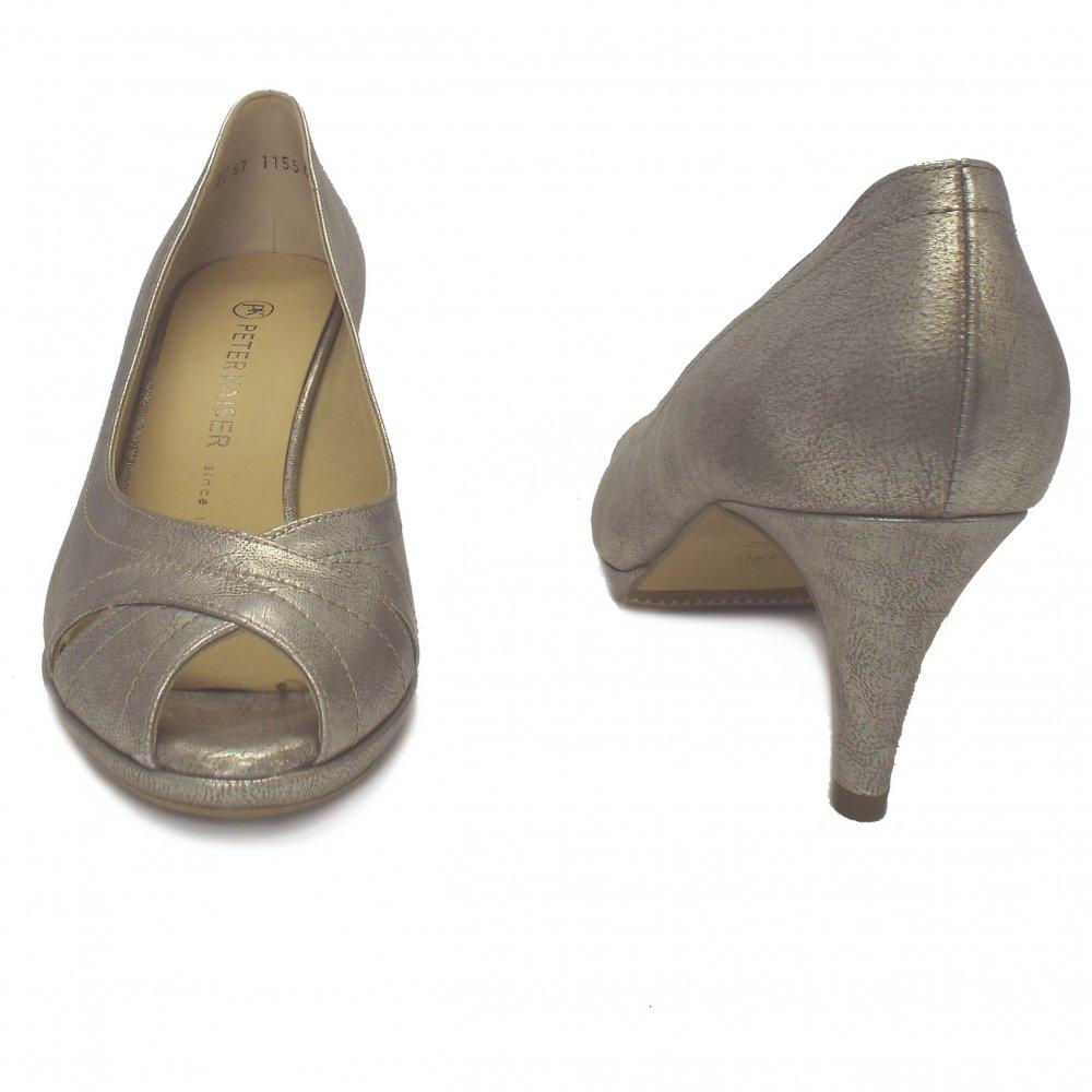 peter kaiser scala ladies wedding bridal taupe furla shoes mozimo. Black Bedroom Furniture Sets. Home Design Ideas
