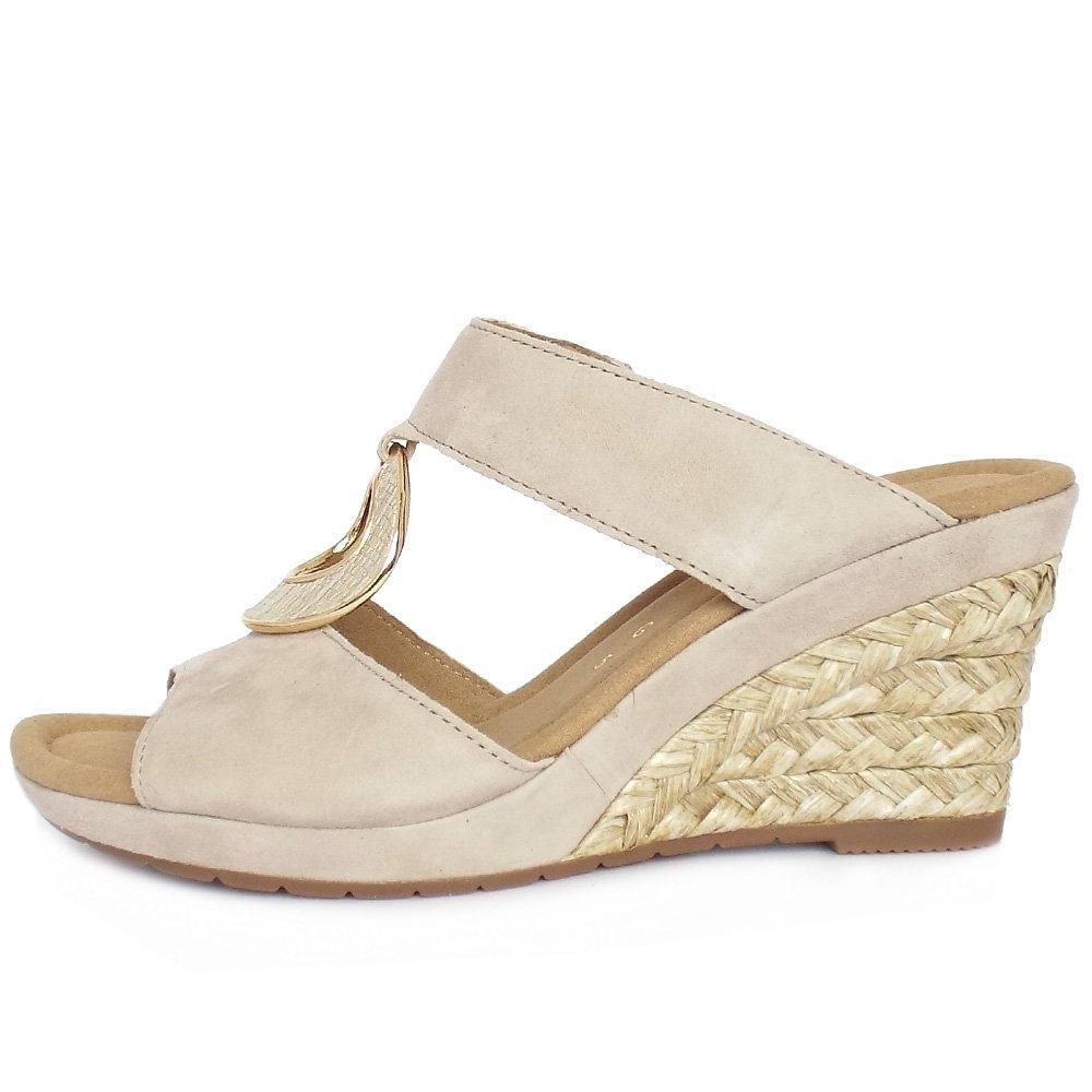 White Dressy Wedge Shoe
