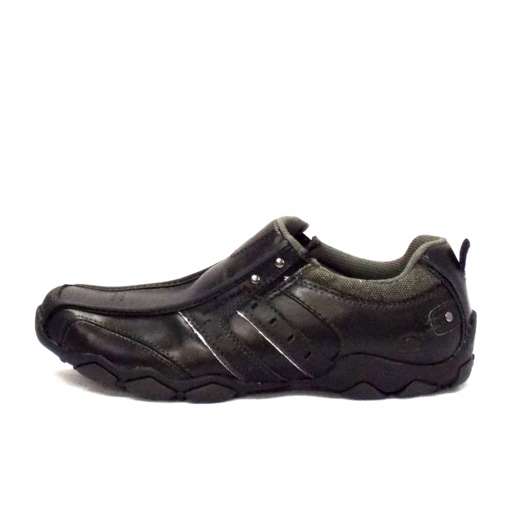 Mens Black Sketcher Shoes