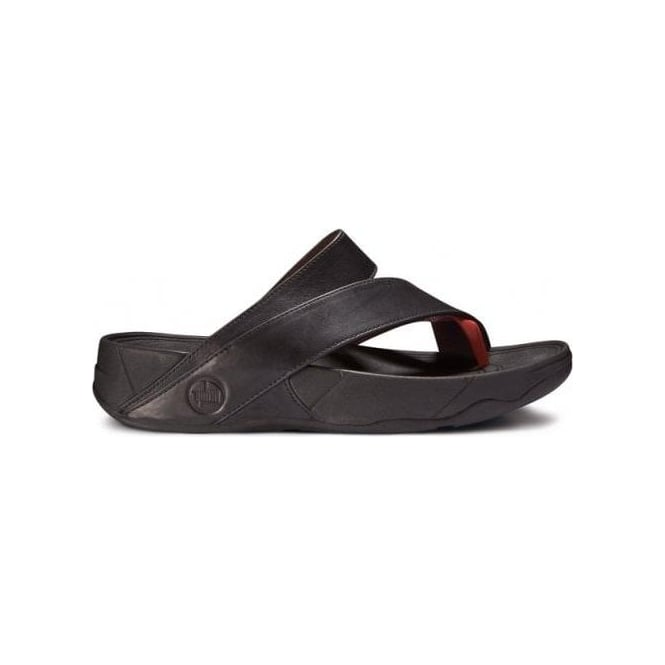 e9a4472fa FitFlops - Sling Leather womens Sandal in Black from Mozimo