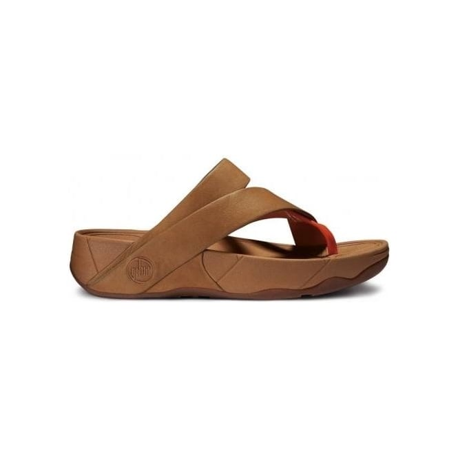 b4e052826ce FitFlops - Sling Leather Womens Sandal in Tan from Mozimo