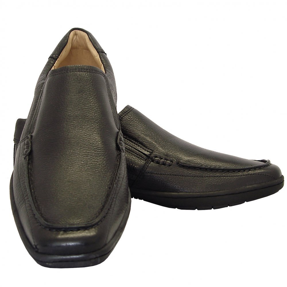 Anatomic Gel Sale - Sobral Mens Black Shoes From Mozimo