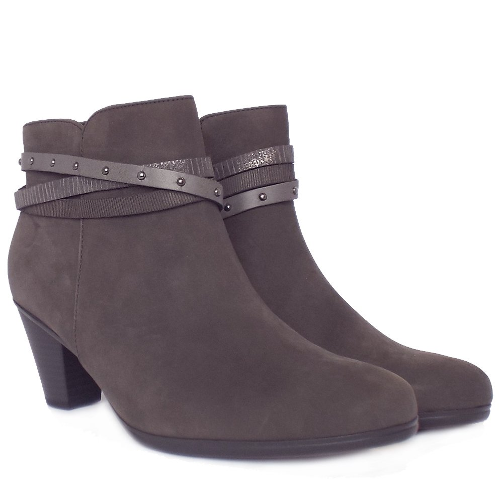 New  Accessories  Solero Women39s Fashion Ankle Boots In Anthracite Grey