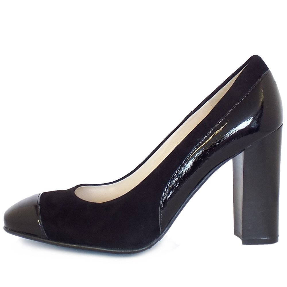 Black Block High Heel Shoes