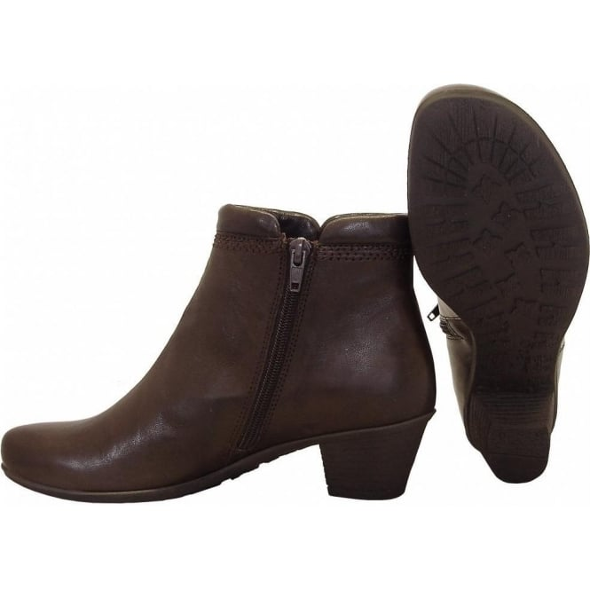 cozy fresh shop for authentic lovely design Gabor Sound Ladies Low Heel Ankle Boot In Brown