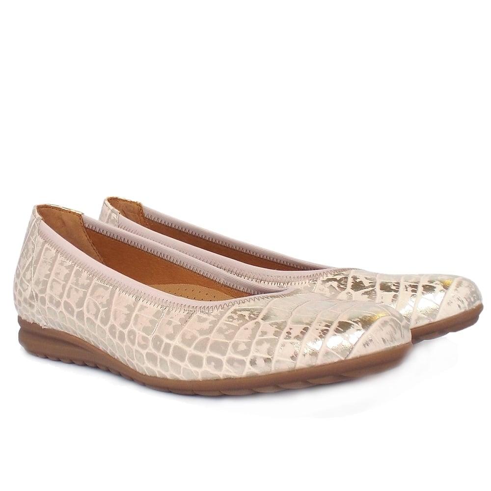Gabor Pink Wide Shoe