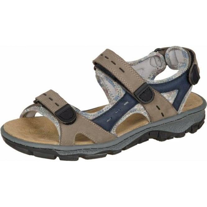 LeatherWide SportstarWomen's Fit Rieker Sand Sandals in Trekking qSpUMVz