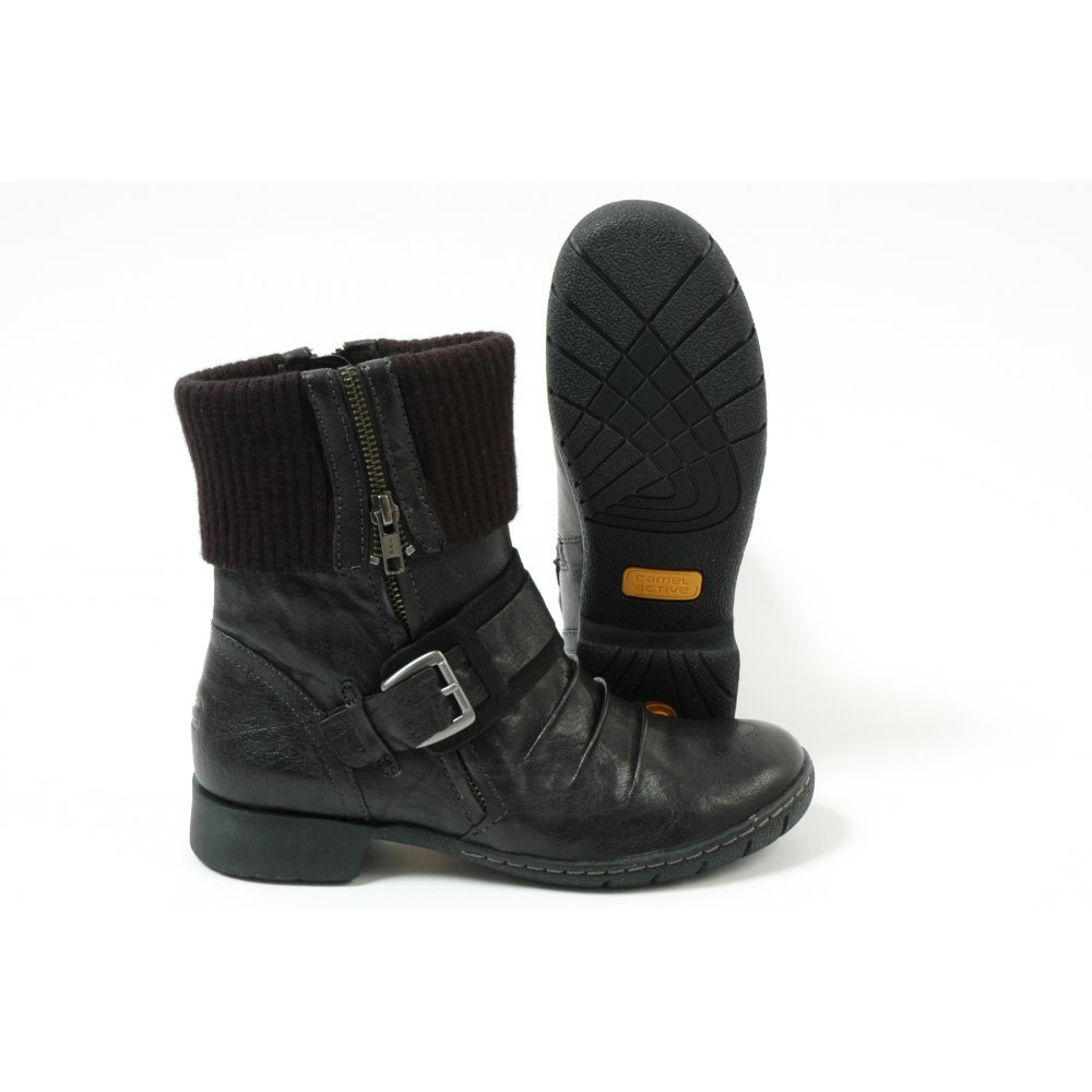 Creative Home  Womens  Lorie Women39s Short Boots In Black Leather