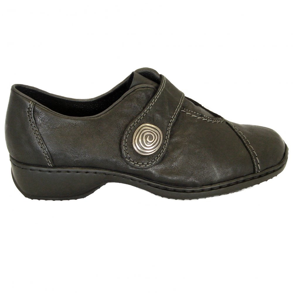 Velcro Fastening Canvas Shoes For Mens