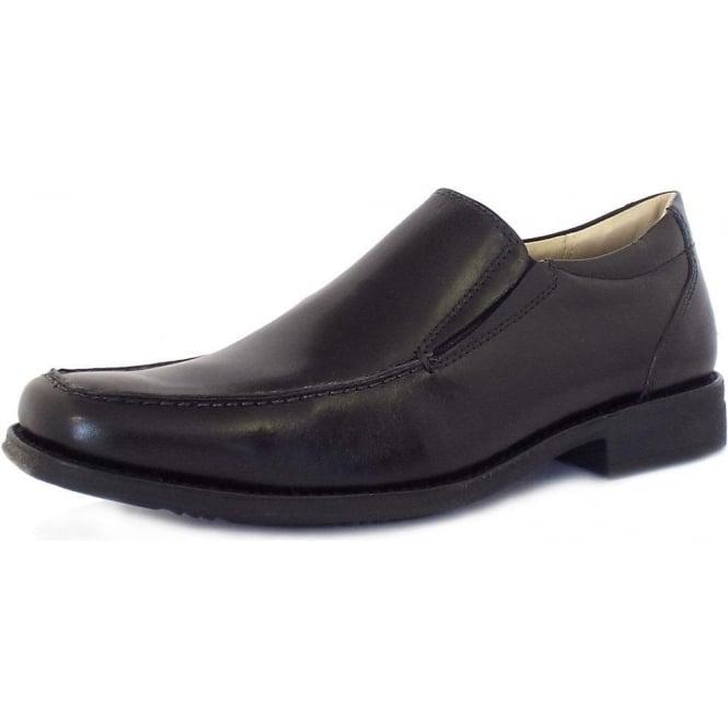 5567b0f49d80 Tapera Men  039 s Slip On Smart Casual Shoes in Black
