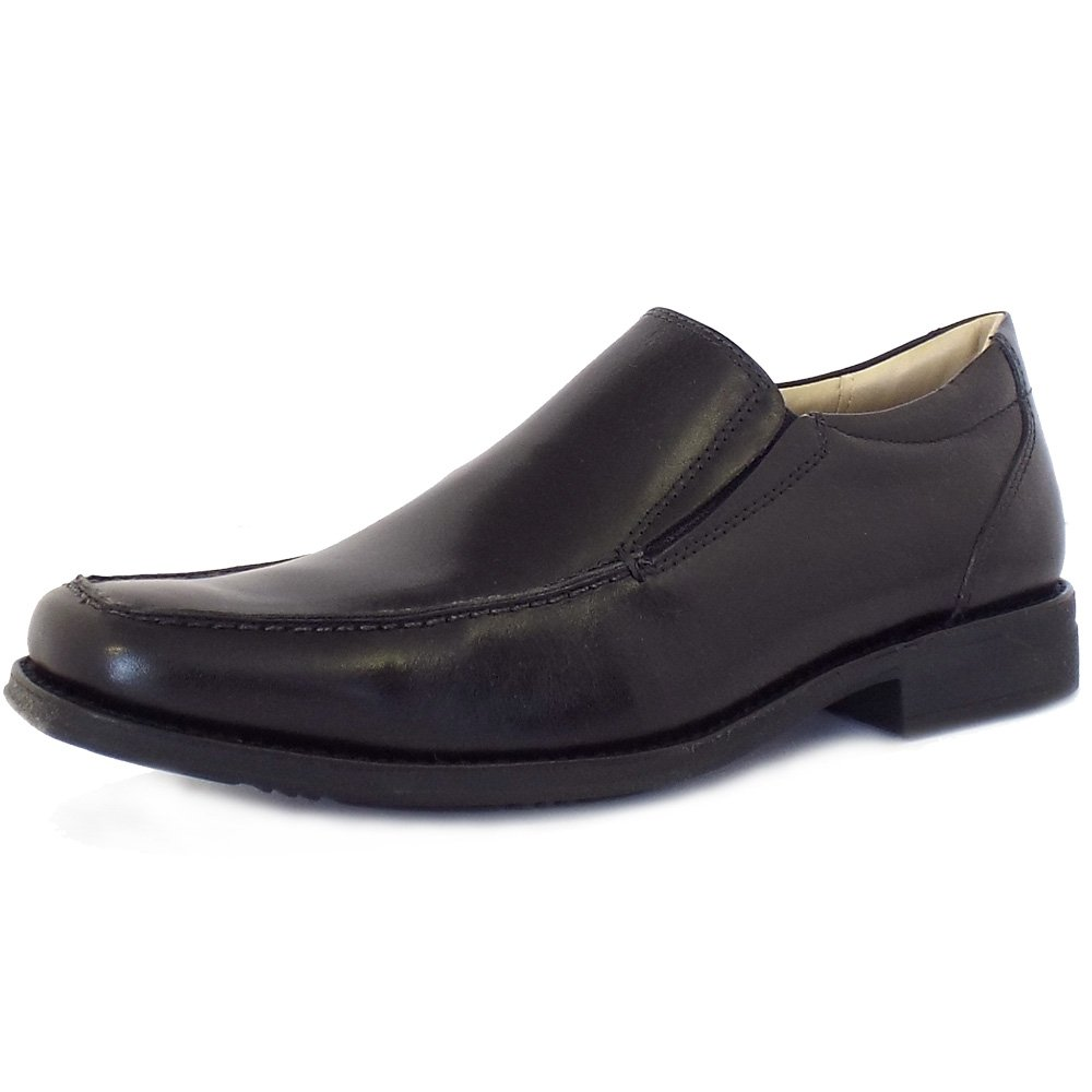 anatomic co tapera s sip on shoes in black leather