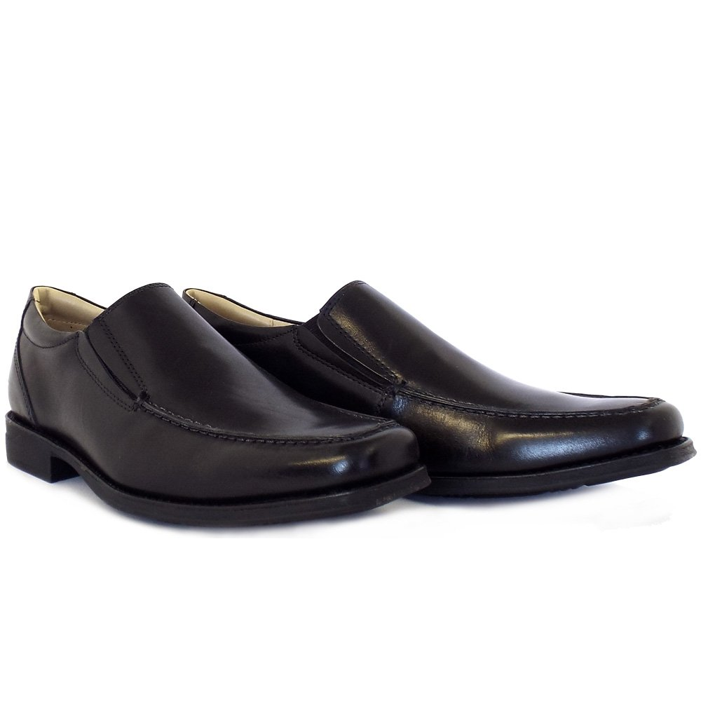 Anatomic Amp Co Tapera Men S Sip On Shoes In Black Leather