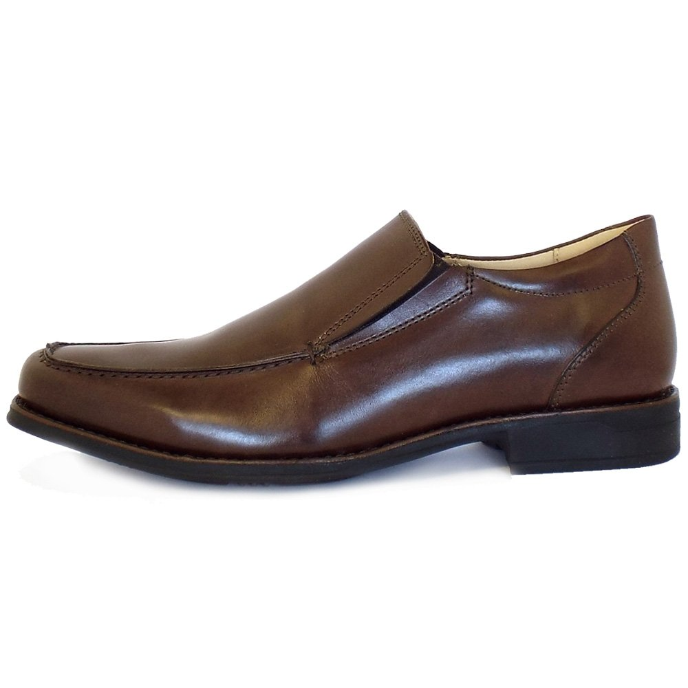 Gabor Brown Slip On Shoes